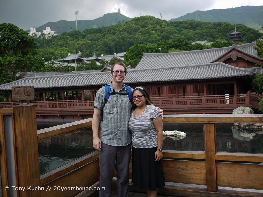 Hanging out in Hong Kong's Chi Lin Nunnery
