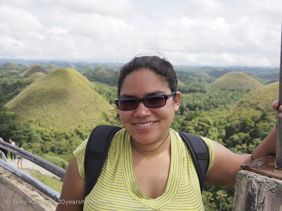 The Chocolate Hills, Bohol, The Philippine Islands