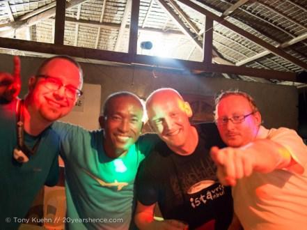 Tony, Mario, Manuel and Thomas