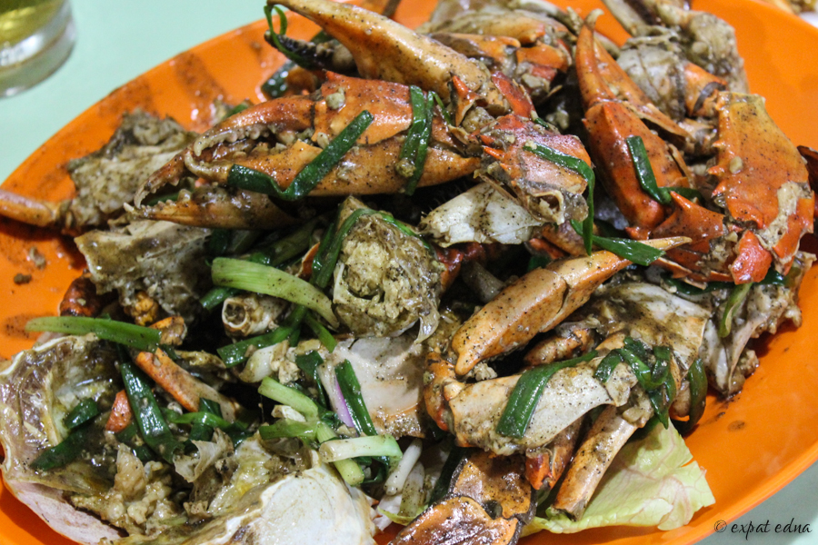 Black pepper crab, Singapore