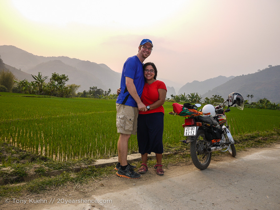 Motorcycles and Vietnam are like peanut butter and jam!