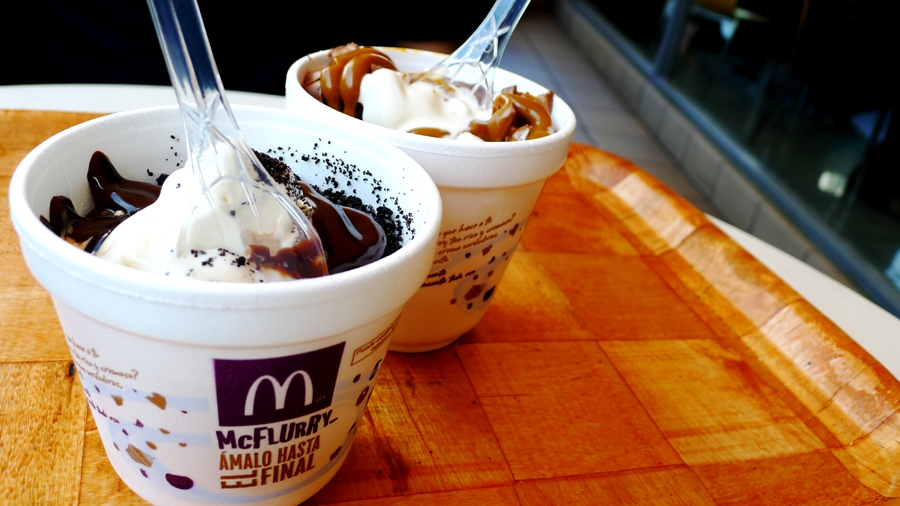 McFlurry's in Lima... So good!