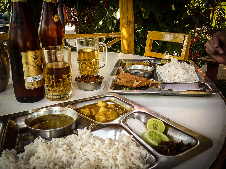 Dahl bat – the national dish of Nepal and what most Nepalese eat every single day!