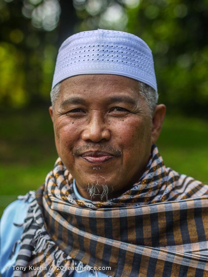 Muslim portrait