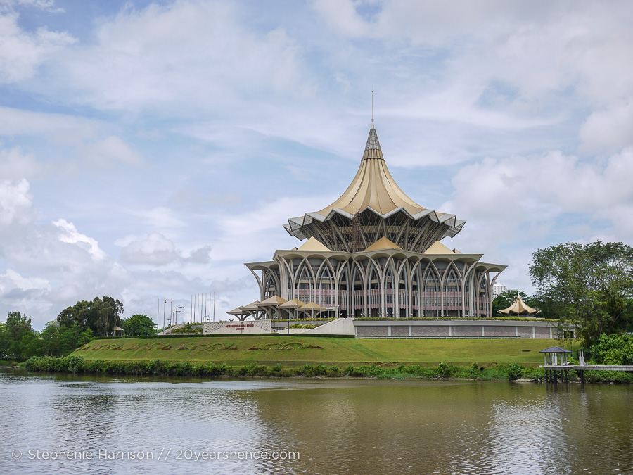 The Sarawak State Legislative building