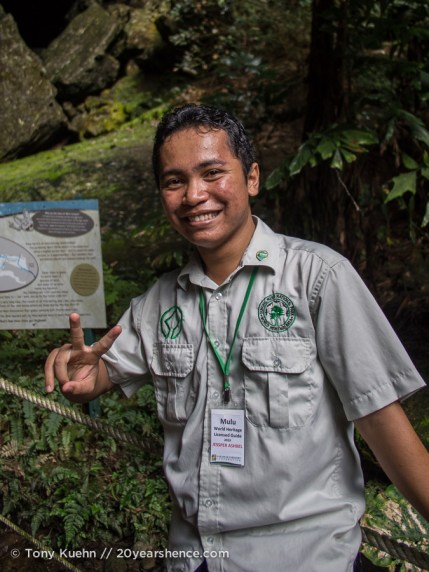 Jesper, a guide in Mulu National Park