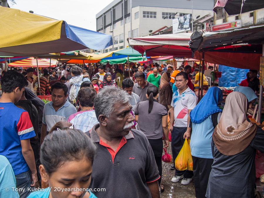 Pudu market in Kuala Lumpur