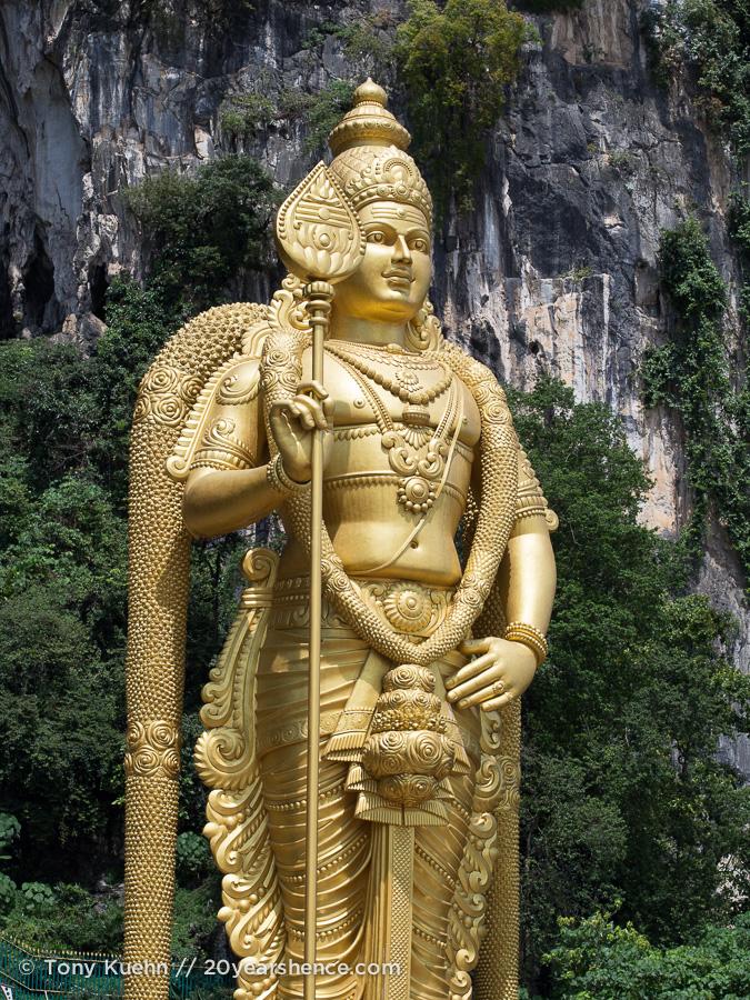 Lord Murugan Statue at the Batu Caves