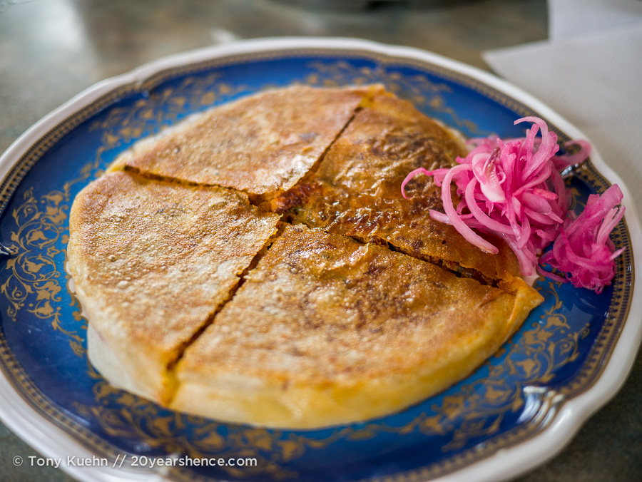 Mutton Murtabak from Jaya in Penang