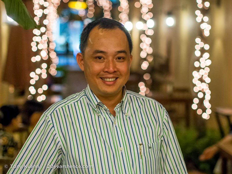 Lang Viet's owner, Le Ba Khang