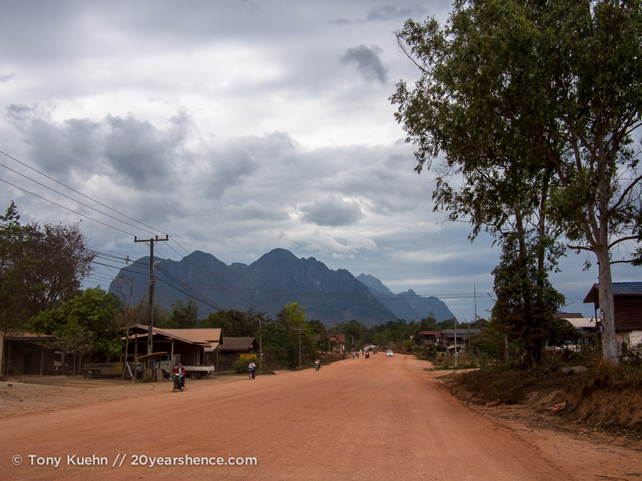 Thakhek Loop scenery