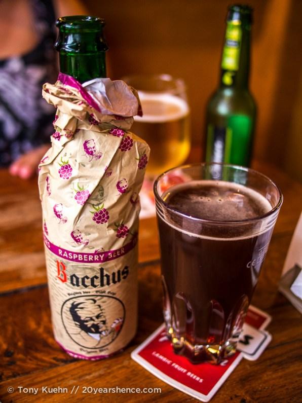 Rasberry beer!