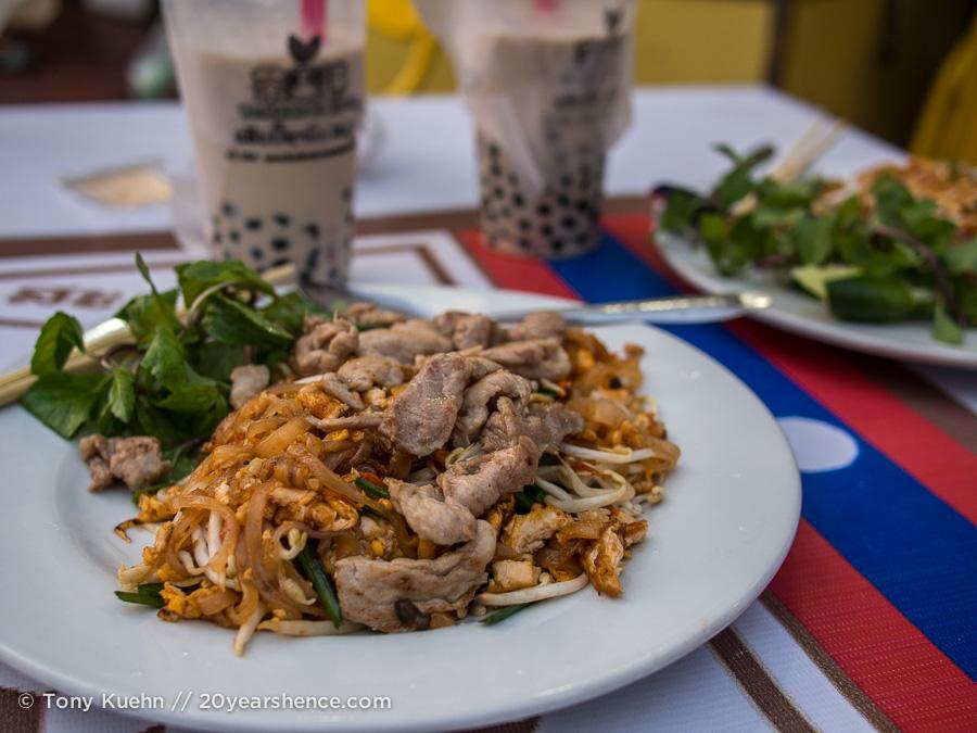 Thai food, Vientiane