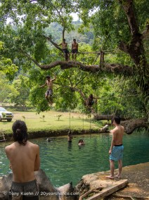 The Blue Lagoon, Vang Vieng, Laos