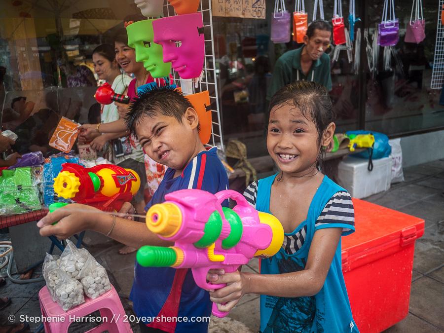 Songkran in Bangkok, Thailand