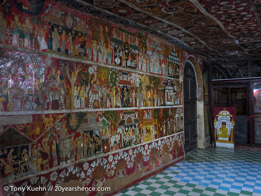 Mulkirigala Painted Cave Temple