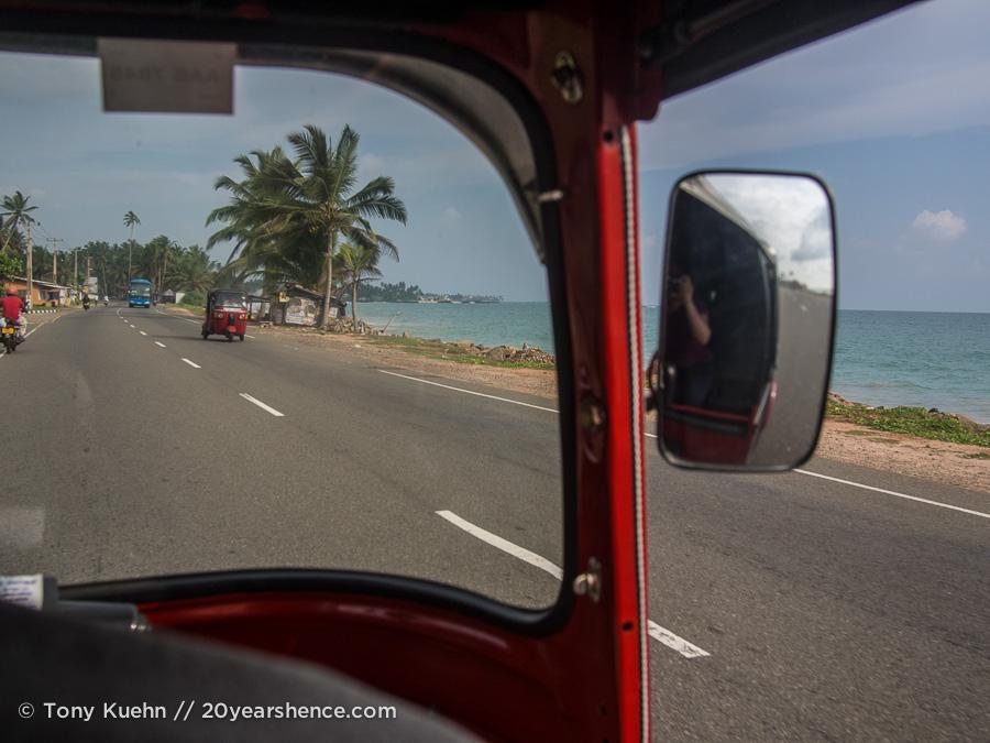 Sri Lanka's highway A2