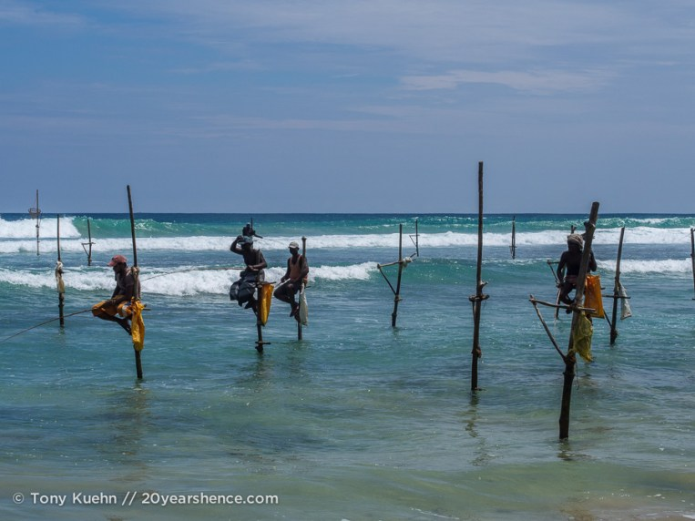 Stilit fishermen