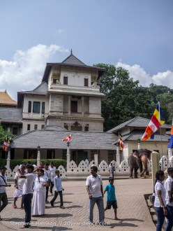 The streets of Kandy