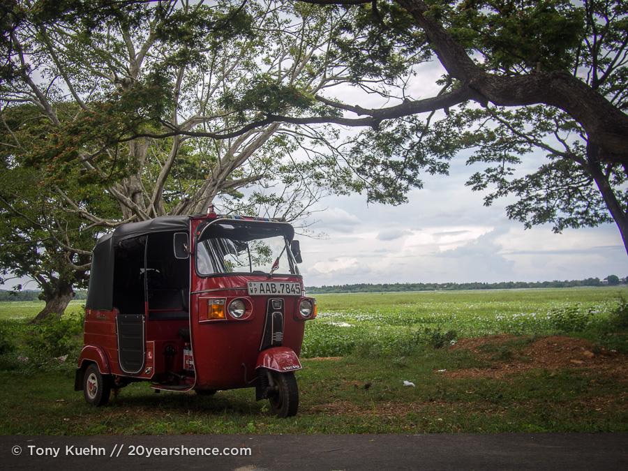King Tuk in Tissa, Sri Lanka