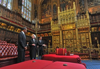 Queens Throne, House of Lords