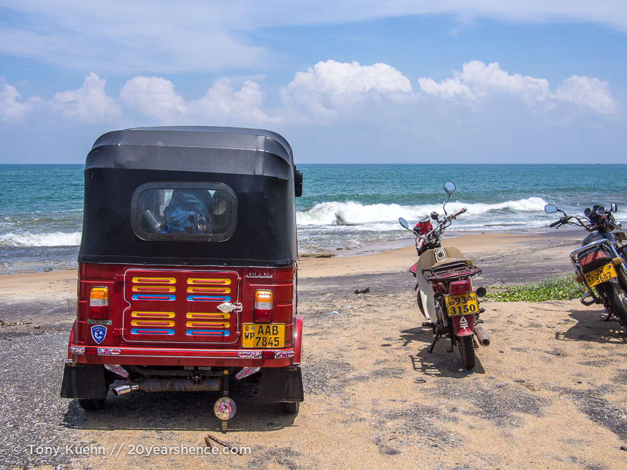 Our Tuk Tuk in Sri Lanka
