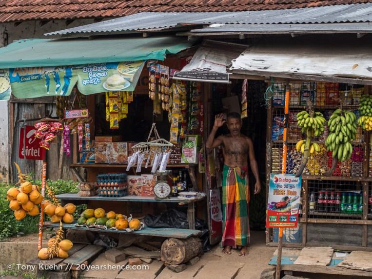Sri Lanakan storefront