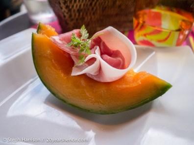Melon with Prosciutto—Paris