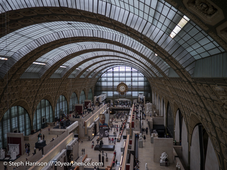 Interior of Musée d'Orsay