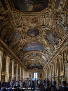 Ornate Louvre Ceiling