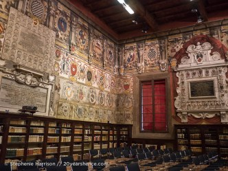 Inside Bologna's University