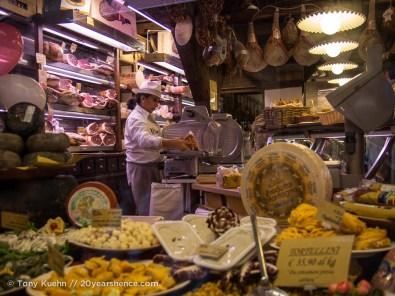 Bologna's Quadrilatero Specialty Food Shop