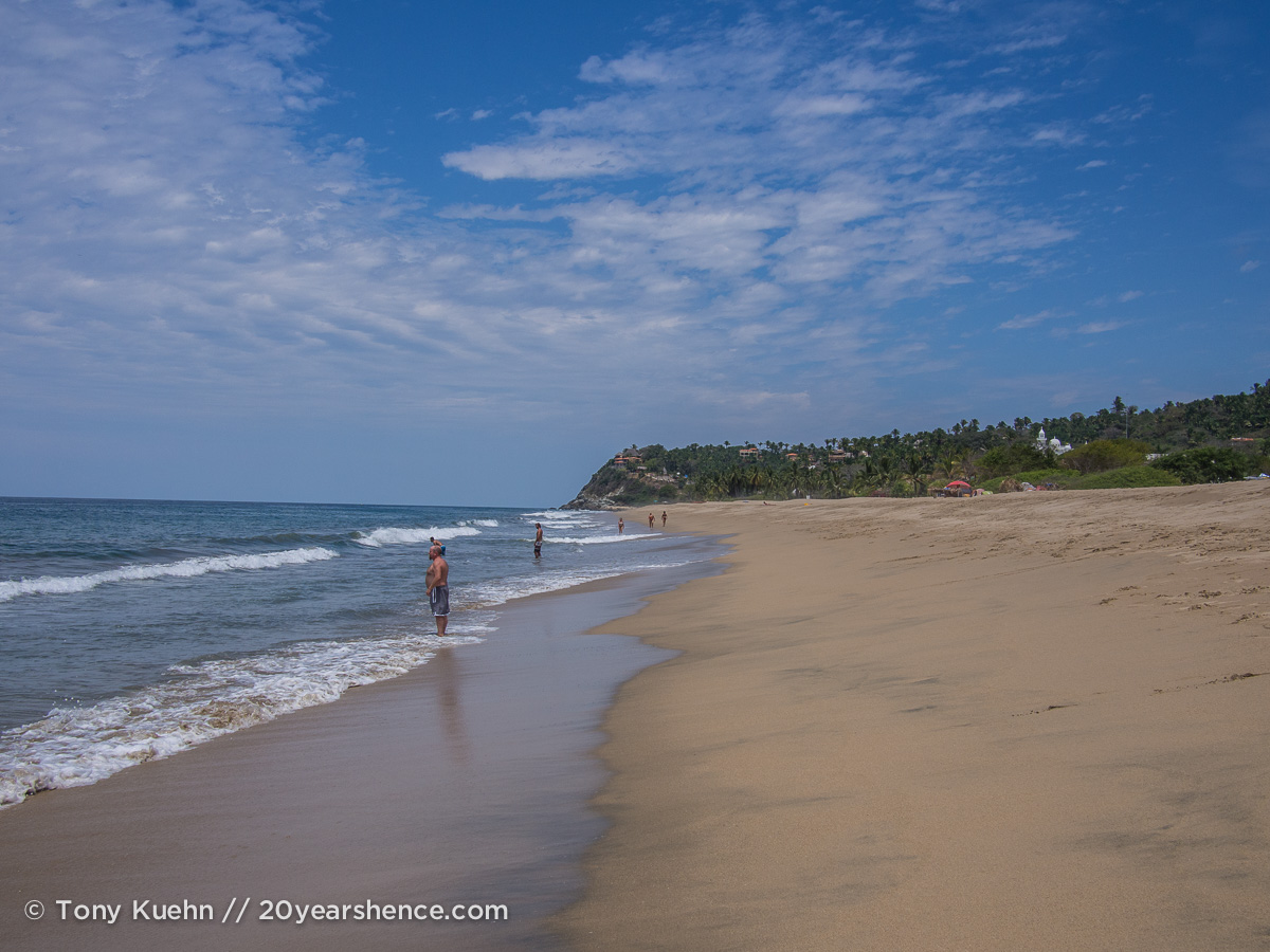 San Pancho's beach