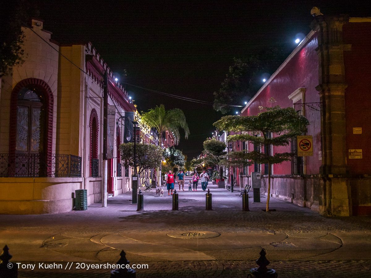 A night out in Tlaquepaque