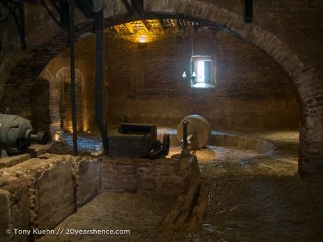 Casa Herradura's antique distillery