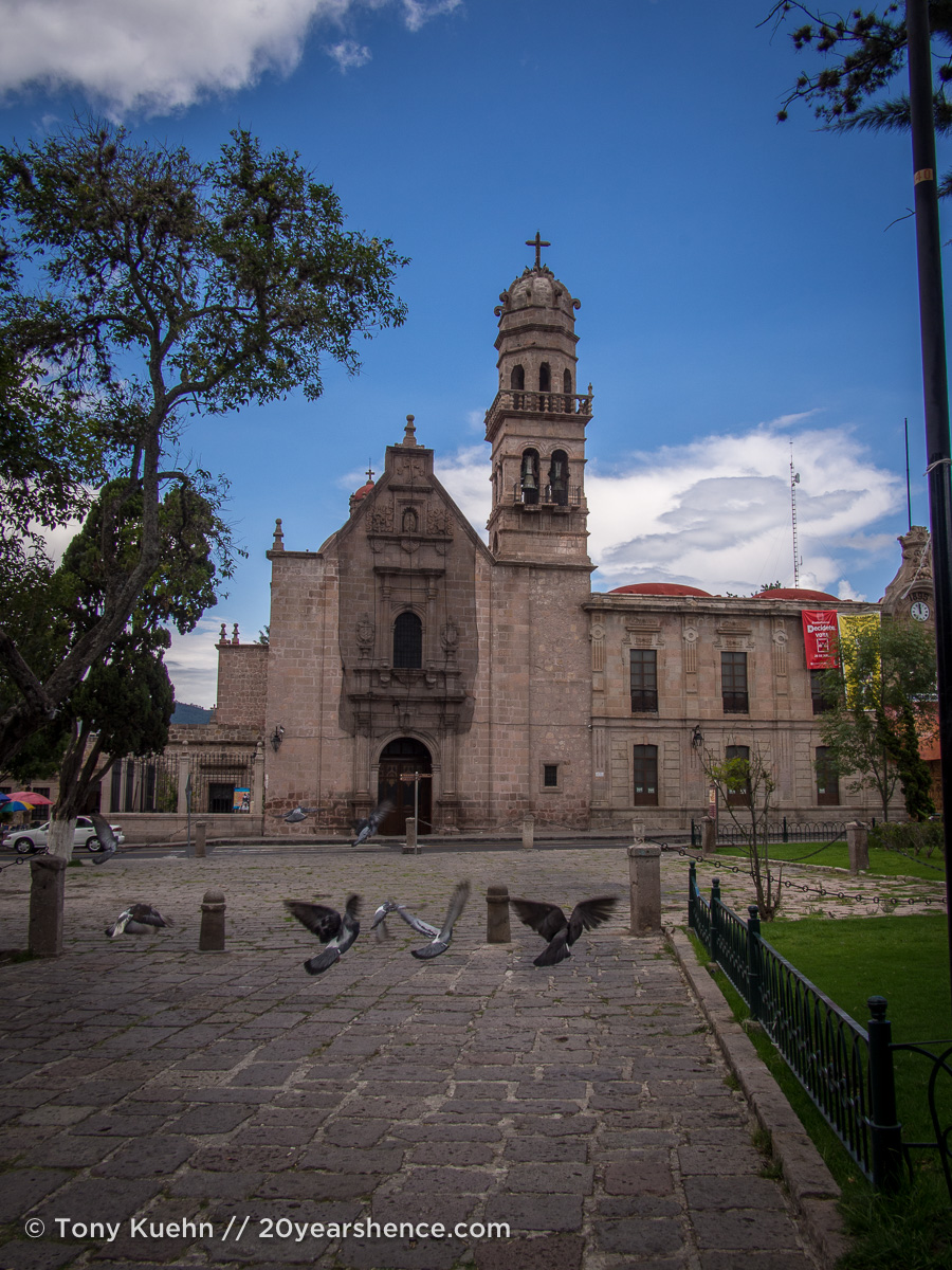 Morelia's historic downtown