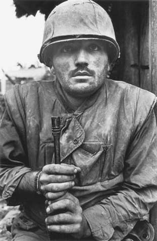 Shell-shocked Marine, 1968 Don McCullin