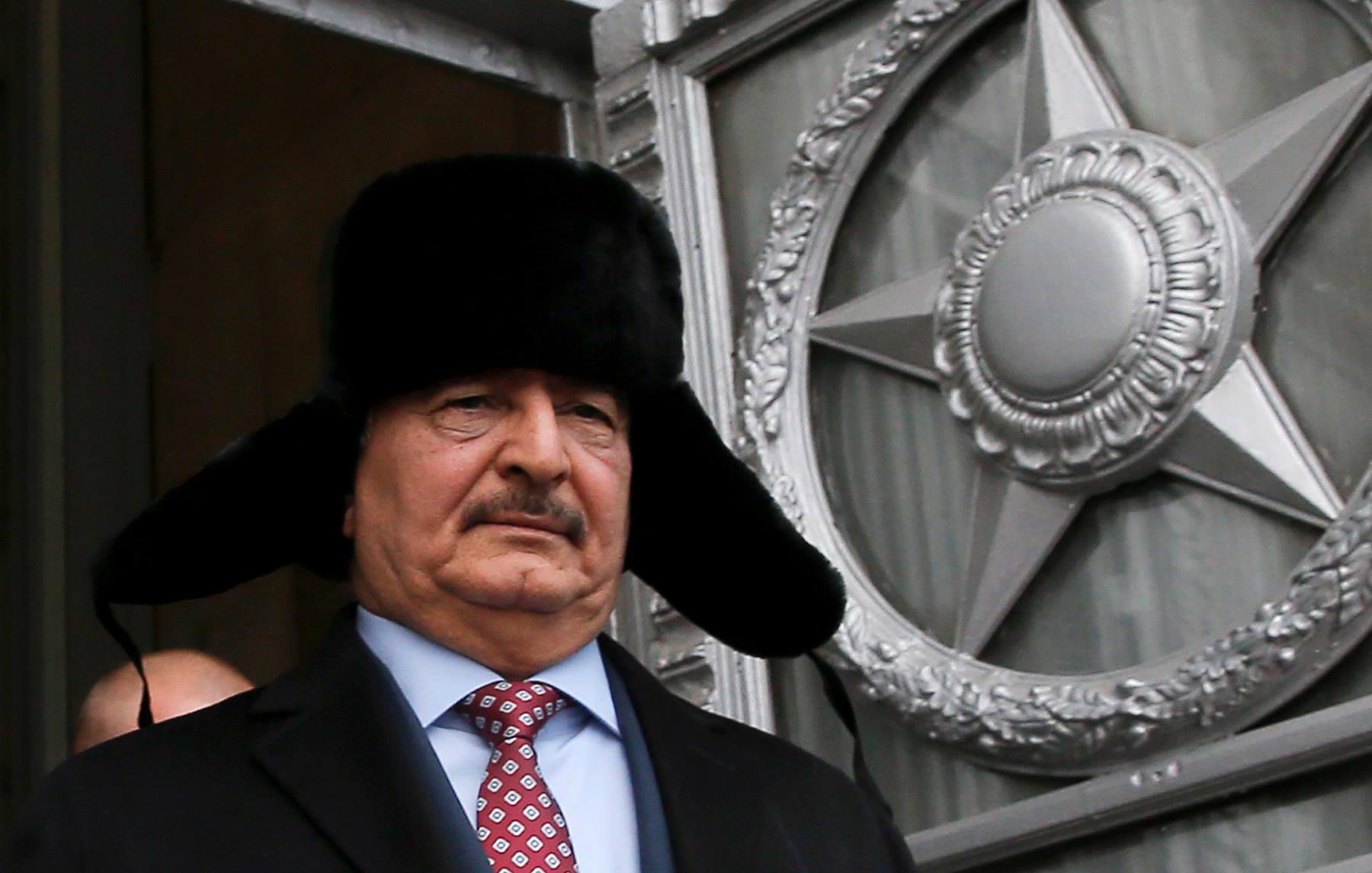 خليفة حفتر - روسيا