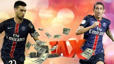 دي ماريا وباستوري - تهرب ضريبي