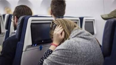 ضغط الأذن في الطائرة