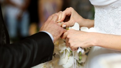 المتزوجين