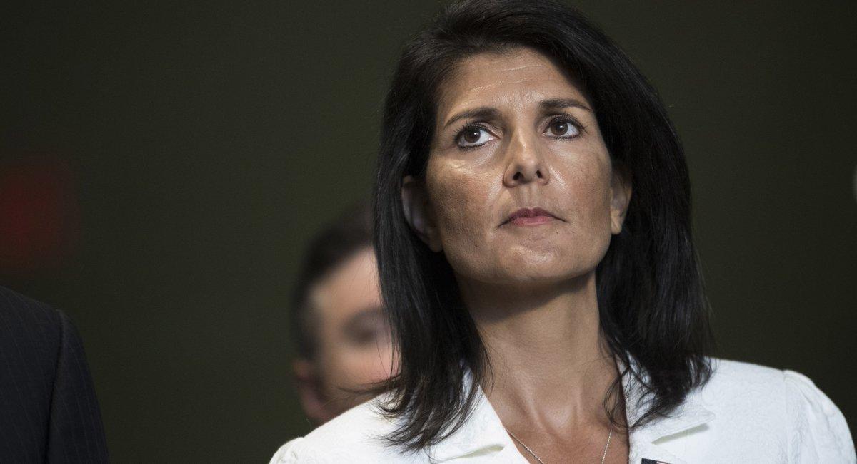 السفيرة الأميركية في الأمم المتحدة نيكي هالي
