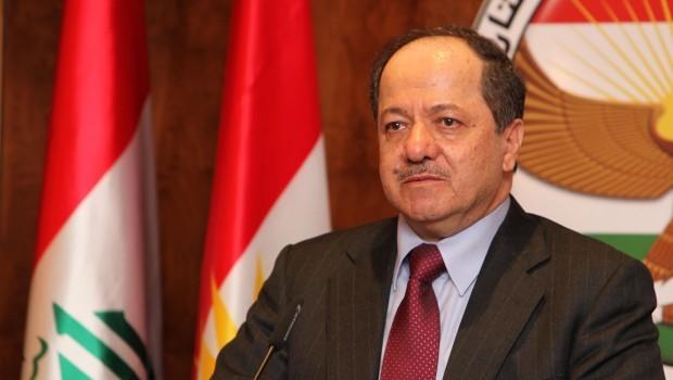 رئيس كردستان العراق مسعود البرزاني