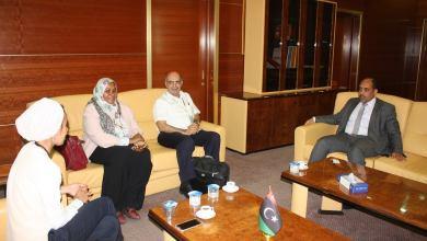 لقاء وزير الصحة بحكومة الوفاق منظمة الصحة العالمية