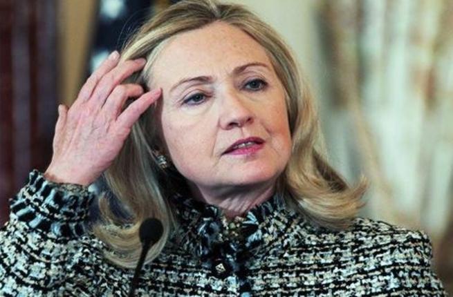 خصلة شعر هيلاري كلينتون