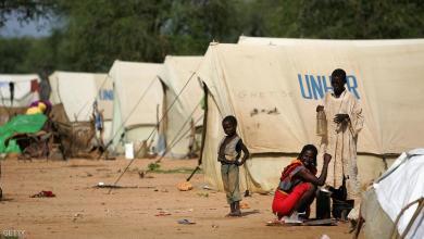 مخيم تابع للمفوضية السامية للاجئين في دارفور