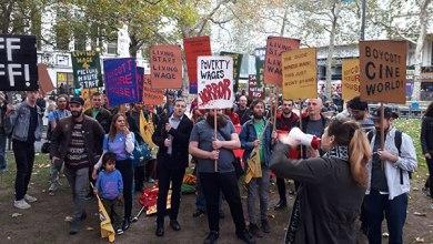 الإحتجاجات العمالية