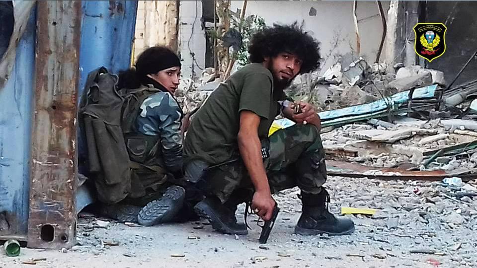 القوات الخاصة الصاعقة في بنغازي