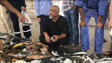 سوق الحوت في مصراتة بمنطقة قصر أحمد