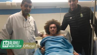 لاعب الأهلي طرابلس محمد المنقوش